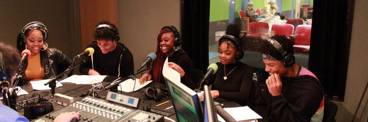 Youth on radio show Streaming Justice
